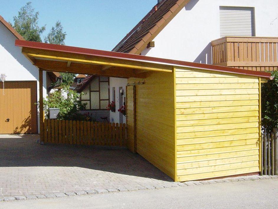 Carports Bergmuller Holzbau Gmbh