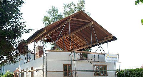 Dach Heben Bergmuller Holzbau Gmbh